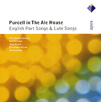 Ian Partridge, Mark Brown Purcell In The Ale House English Part Songs & Lute Songs Antiqua Кристофер Уилсон Christopher Wilson инфо 9158n.